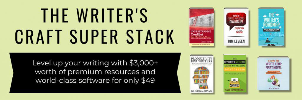 Banner saying Level up your writing with $3,000+ worth of premium resources and world class software for only $49.